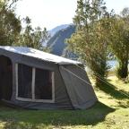 Camping in Puerto Cisnes
