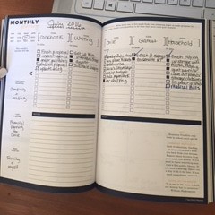 Planner Monthly goals